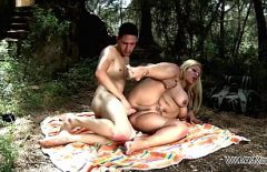 Süper Sabit Porno Ile Bir Yağ Sarışın Yapar Güzel Seks