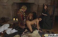 Porno Siktir Et Ile Iki Hizmetçiler Kral Tato