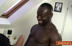 Love Sex Movies With A Blonde Singer Alexandra Stan Fucked By A Black Man