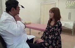 Japon Hastasını Siken Kıvrımlı Doktor